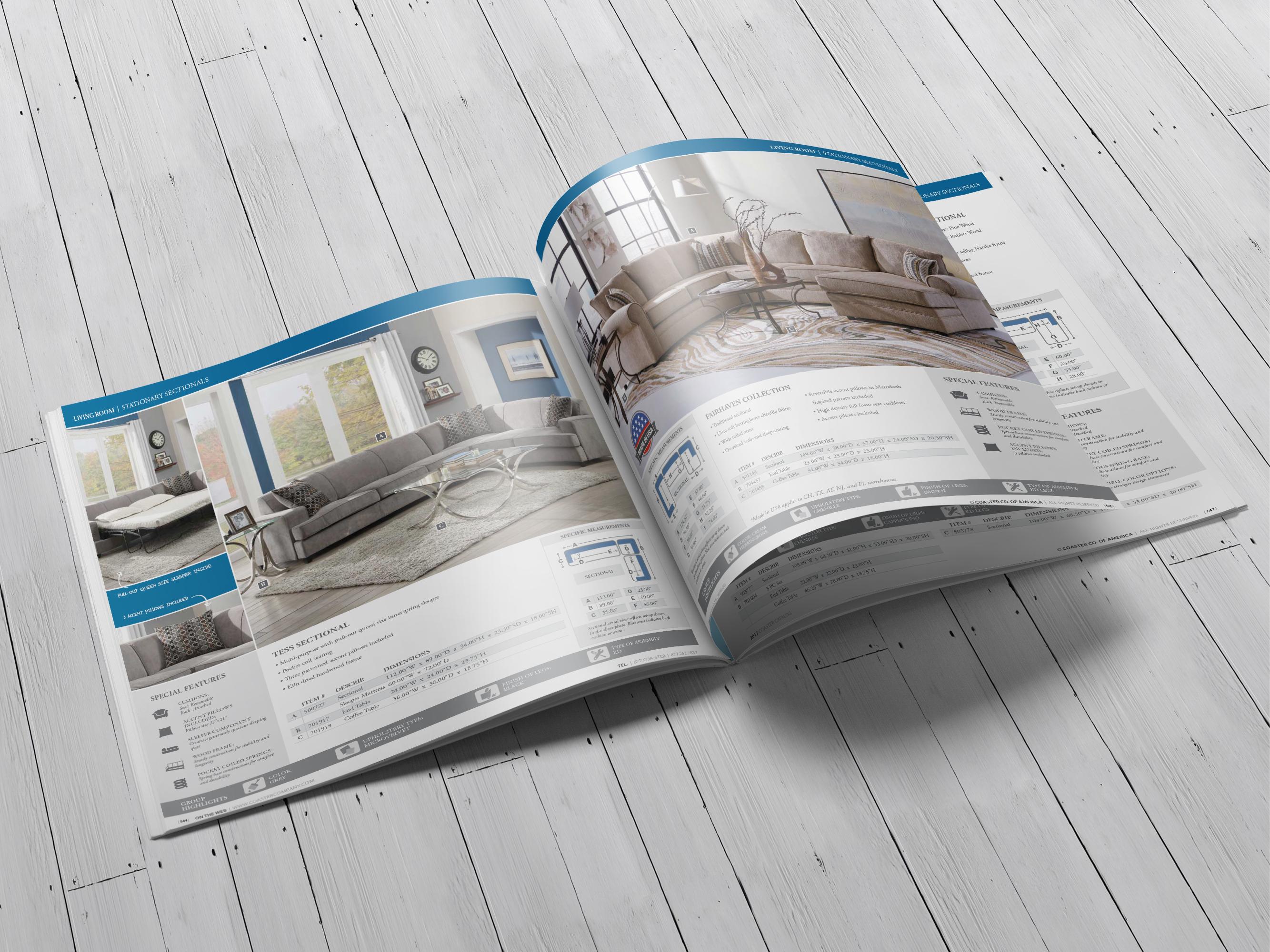 Furniture Catalogs – Jen Tsai | Graphic Design Portfolio